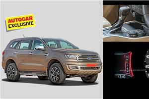BS6 Ford Endeavour 2.0-litre diesel, 10-speed auto launch soon