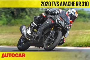 2020 TVS Apache RR 310 video review