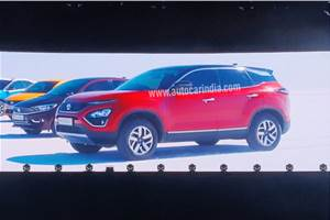 Tata Harrier BS6 power and variants info out