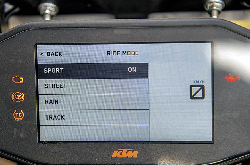 Riding modes bring a dramatic change.