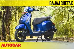 Bajaj Chetak video review