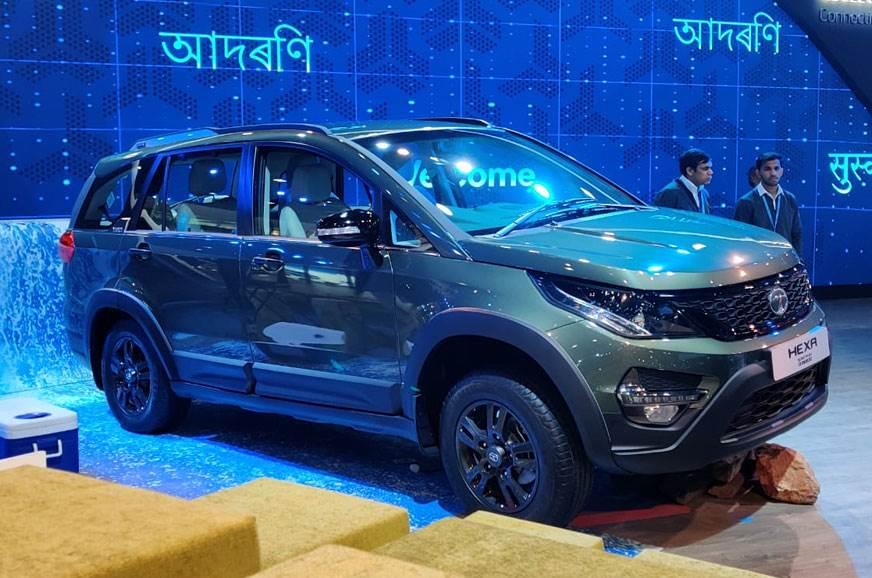 Tata Hexa Safari Edition breaks cover at Auto Expo 2020
