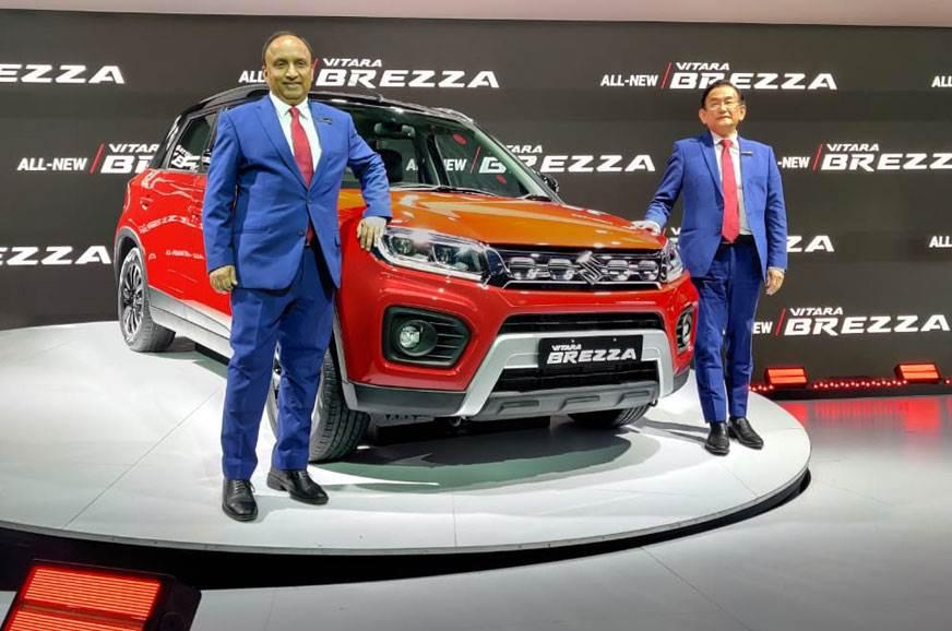Auto Expo 2020: Maruti Vitara Brezza facelift brings ...