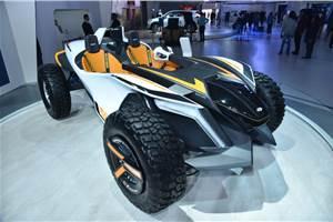 Part buggy, part jet ski Hyundai Kite shown at Auto Expo 2020