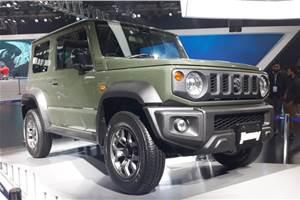 Suzuki Jimny stars at Maruti's Auto Expo 2020 pavilion