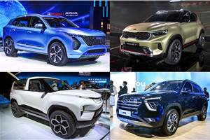Our stars from Auto Expo 2020