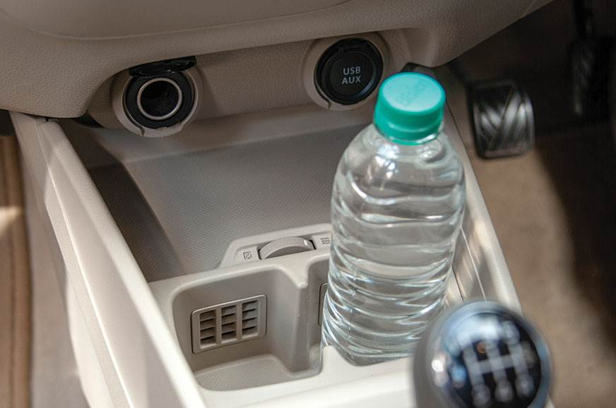 Cool Drinks: Cooled cup holders keep your drinks cool, ev...