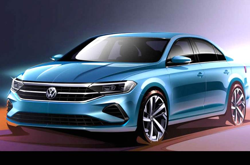Next-gen Volkswagen Polo sedan sketches revealed