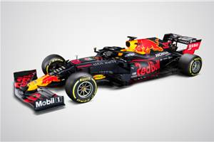 Red Bull's 2020 F1 racer revealed with minimal changes