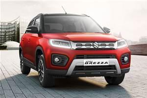 2020 Vitara Brezza to be sold in seven variants