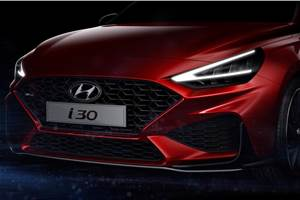 Hyundai i30 facelift teased ahead of Geneva debut