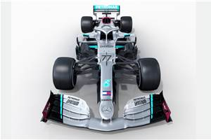 2020 F1: Mercedes W11 debuts with new livery