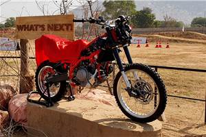 Hero MotoCorp showcases prototype 300cc+ adventure motorcycle