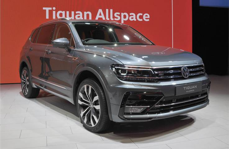 Volkswagen Tiguan AllSpace India launch on March 6