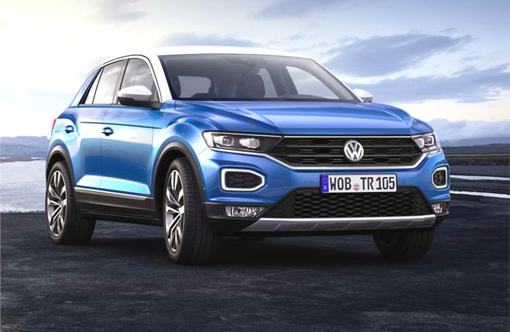 Volkswagen T-Roc India launch on March 18, 2020