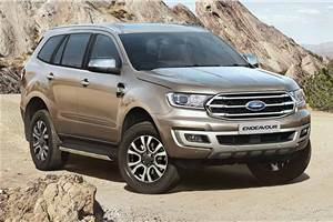 BS6 Ford Endeavour launched at Rs 29.55 lakh