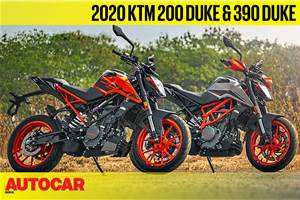 2020 KTM 200 Duke, 390 Duke video review