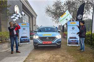 Autocar India sets a record, covers 563km in MG's ZS EV on one charge