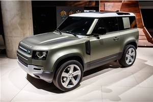 Land Rover Defender priced from Rs 69.99 lakh