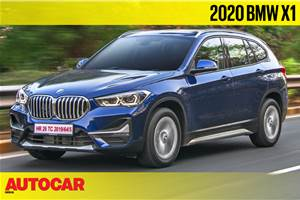 2020 BMW X1 facelift video review