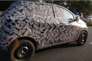 Datsun Redigo facelift spy shots indicate major updates