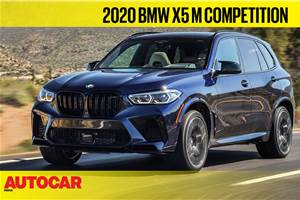 2020 BMW X5 M Competition video review