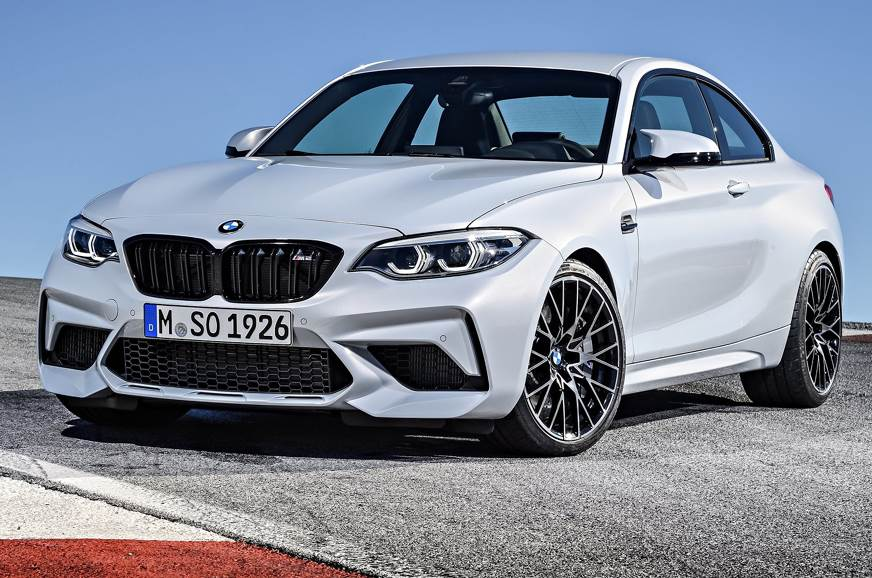 Current-gen BMW M2 Coupe used for representational purpos...