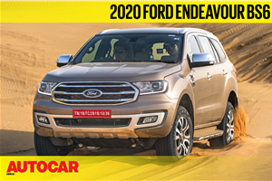 2020 Ford Endeavour off-road dune bashing video review
