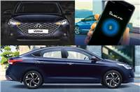 2020 Hyundai Verna facelift to get Advanced Blue Link con...