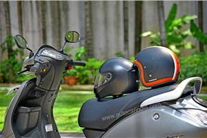 New bike, scooters to come with two helmets soon