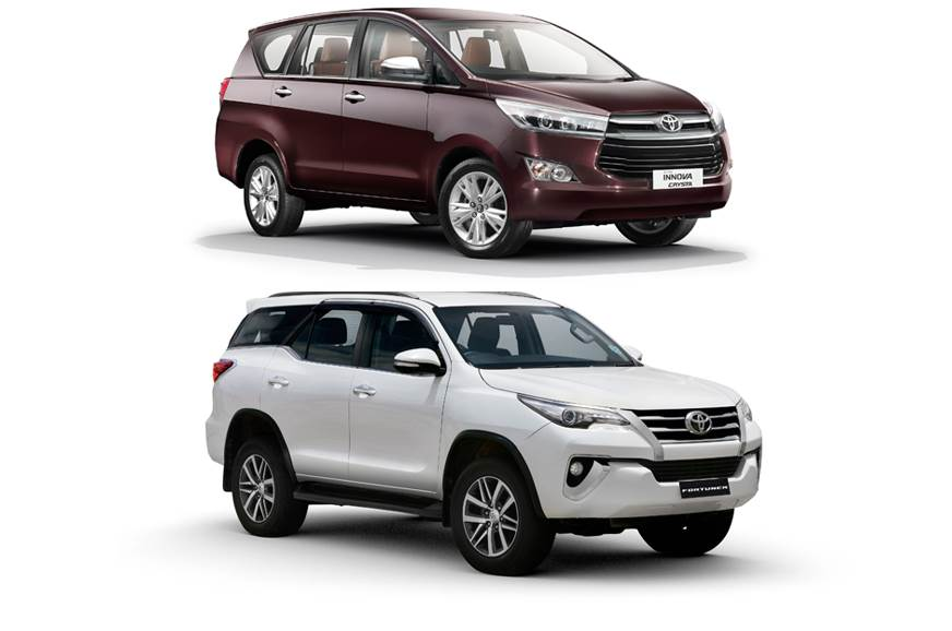Toyota claims Innova Crysta, Fortuner sales dominate resp...