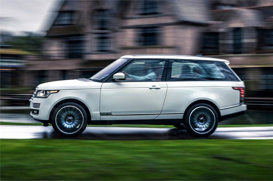 Range Rover SV Coupe-inspired Adventum Coupe revealed