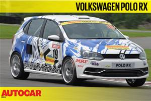 Volkswagen Polo RX track drive video