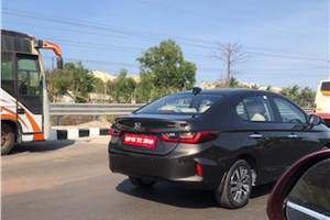 New Honda City India launch next month