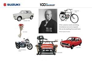Suzuki Motor Corporation celebrates Centenary in 2020