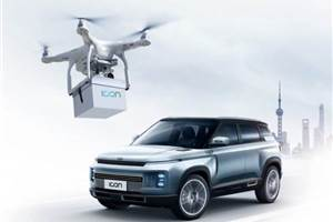 Geely introduces drone-based key delivery system in China