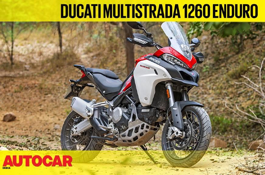 Ducati Multistrada 1260 Enduro video review