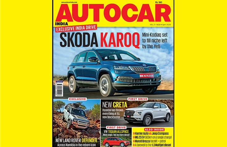 Autocar India April 2020 issue out now – download i...
