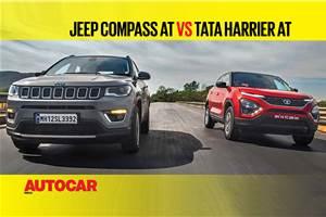 Tata Harrier automatic vs Jeep Compass comparison video