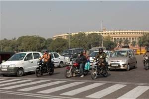 New Delhi air quality improves in lockdown