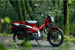 Honda CT125 becomes the company's most expensive moped