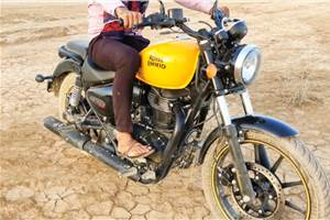 2020 Royal Enfield Meteor 350 spotted undisguised