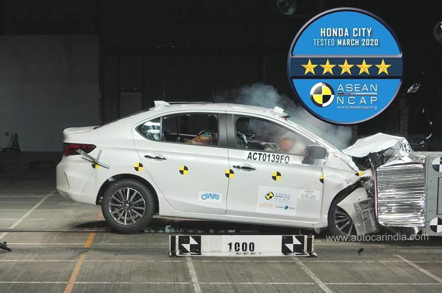 New Honda City gets 5-star ASEAN NCAP rating