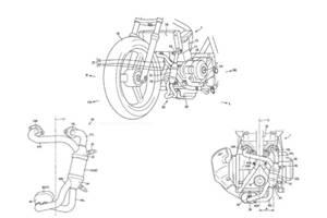 Suzuki patents new 250cc engine