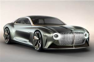 Bentley's first EV to be a high-riding crossover sedan