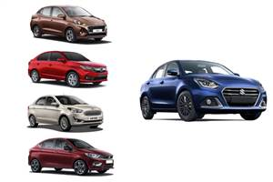 2020 Maruti Suzuki Dzire facelift vs rivals: Price, specifications comparison