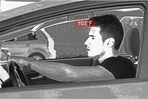 UVeye's tech detects drivers, passengers with potential COVID-19 fever