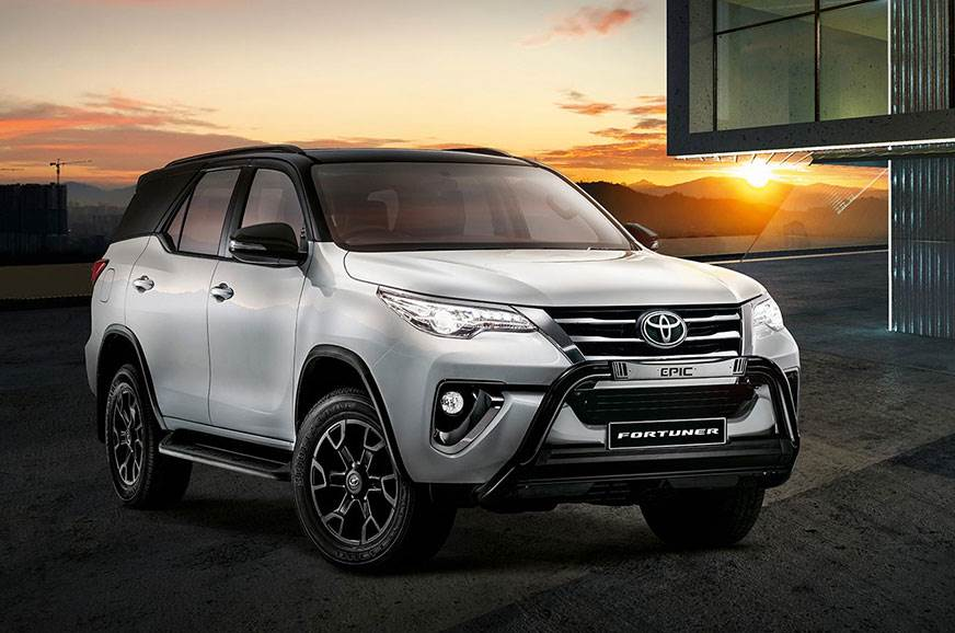 Toyota Fortuner Epic Black.