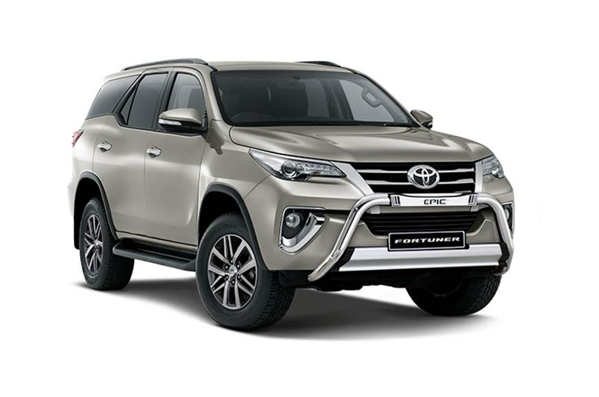 Toyota Fortuner Epic.