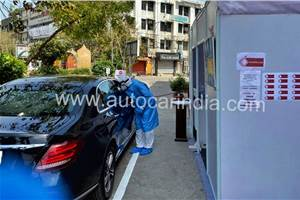 India's first drive-through COVID-19 sample collection facility introduced